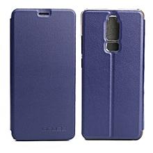 OCUBE Leagoo S8 (MPH1941) Spring Texture Horizontal Flip Leather Case With Holder (Dark Blue)