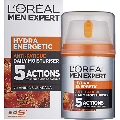 buy l 39 oreal paris men expert hydra energetic recharging moisturiser 50ml best price online. Black Bedroom Furniture Sets. Home Design Ideas