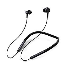Xiaomi LYXQEJ01JY Bluetooth Earphones Necklace Sports Earbuds -BLACK