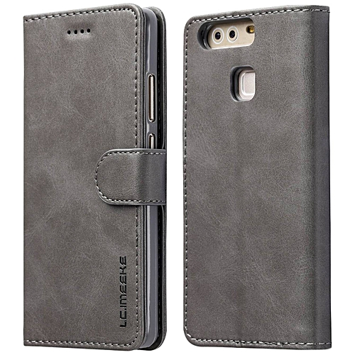 cheaper 84526 5ec47 Huawei P9 Plus Case,Premium PU Leather Flip Wallet Case [TPU Shockproof  Interior Protective Case] with Card Slot,Stand,Magnetic Closure for Huawei  P9 ...