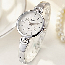 Top Brand Luxury Rhinestone Bracelet Women Watches Silver