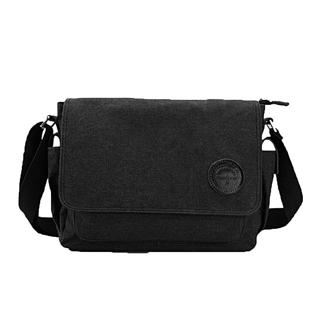 ea9854b539b5 koaisd Men Vintage Canvas Messenger Shoulder Bag Crossbody Sling School Bags  Satchel BK