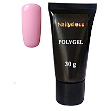 PolyGel For Nails Gum Gel For Nails Natural Pink 30g.