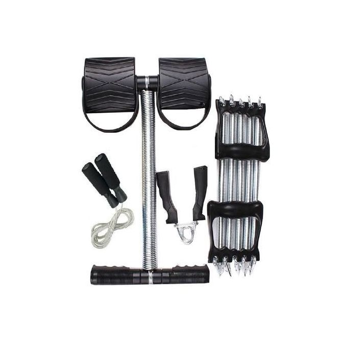 Infinity Tummy Trimmer Plus FREE Skipping Rope Plus Hand Grip and Chest Pull