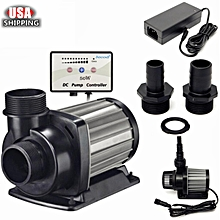 Jecod/Jebao DCT-4000 Submersible Controller Water Pump For Reef Tank Skimmer US Black