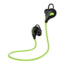 QCY Sets QY7 Sports Wireless Bluetooth 4.1 EDR Headphones Stereo Earphones Headset With Mic Earbuds For IPhone 7 Android Phone(Green)