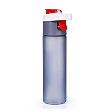 600ML Outdoor Plastic Water Bottle Creative Traveling Sport Running Drinkware Leakproof Spray Kettle
