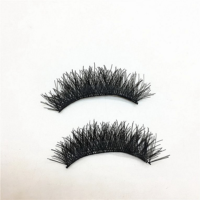 6923a5a9484 ... Magnetic Eye Lashes Reusable False Magnet Eyelashes Extension for Women  black A2