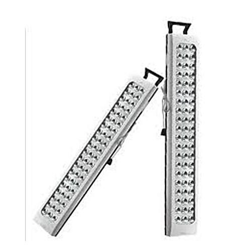 60 LED Rechargeable Lamp - 1600mAh - White & Black
