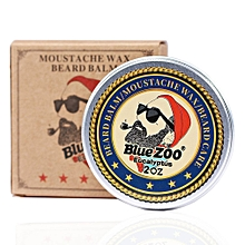 Men Beard Oil Balm Moustache Wax for styling Beeswax Moisturizing Beard Care Eucalyptus