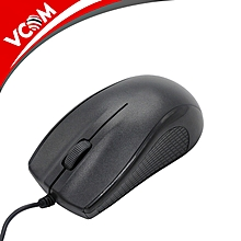 DM112 USB Wired Mouse-Black