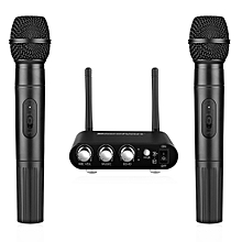 K38A Wireless Microphone With Receiver - Black