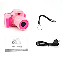 CO D10 Full HD 1080P Digital Video Camera 2 Inch LCD Screen Children Mini DV-pink