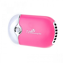 Portable Air Conditioning Fan - Pink