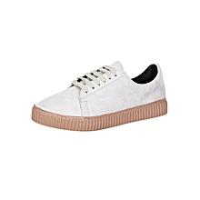 Light Beige Women's Sneakers