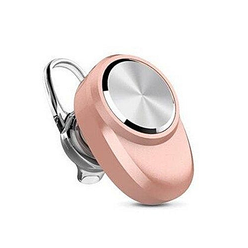 New BluetoothV4.1 Headset Auriculares Earphone Bluetooth Stereo Music Wireless Audifonos Headset (Rose Gold)