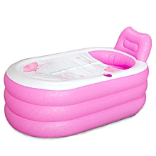 Water Sports Inflatable Pool Portable PVC Adult Bath Tub Folding Inflatable Bathtub Safe Spa Swimming Pool & Accessories