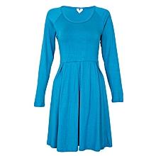 Teal Casual Dress