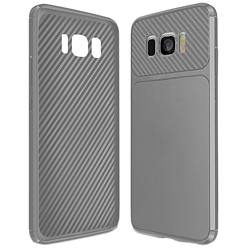 reputable site 989b7 78b77 Galaxy S8+ Case,Ultra Slim Premium Soft TPU Case [Carbon Fiber Lightweight]  Reticular Texture Non-Slip Durable Rubber Cover for Samsung Galaxy S8+/S8  ...