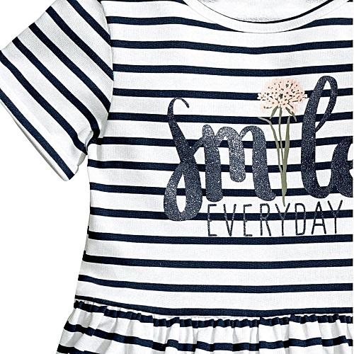 1b9ba9ed5317 MUYI Toddler Baby Kids Girls Princess Party Clothes Stripe Short Sleeve  Tutu Dresses