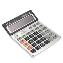 sjc 1600l dual power advanced electronic calculator for school student gray