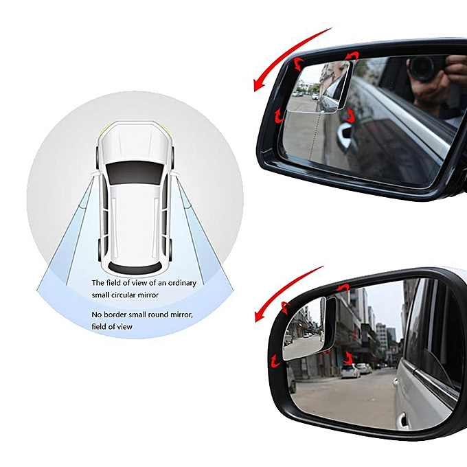 Blind Spot Mirrors Car Mirror For Side Door Large Image And