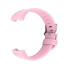 Replacement Silicone Rubber Band Strap Wristband Bracelet Waterproof Durable pink