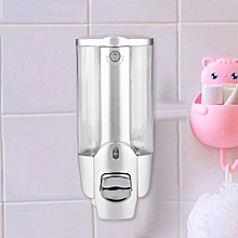 350ml/2*350ml Bathroom Wall Mounted Soap Shampoo Sanitizer Dispenser Lotion Liquid Pump 350ml