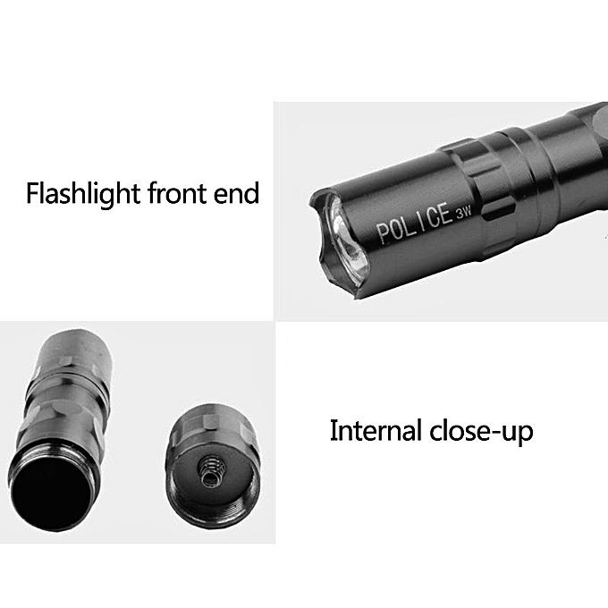 Super Bright 6000 Lumens 3 Modes CREE XML T6 LED 18650 Flashlight Torch Lamp