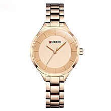 Women Casual Fashion Watch Quartz Wristwatches Ladies Gift Full Steel Dress Quartz Watches