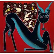 'eland and birds' by Simon Kalweo