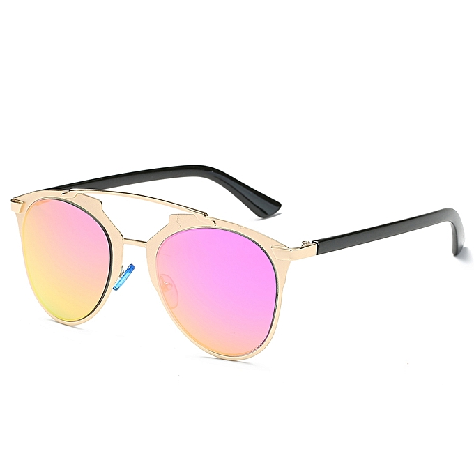 db2960b39ce Fashion Brand Sunglasses Purple Polycarbonate Alloy Male Eyewear Sun Glasses  Accessories Sunglasses Series -Gold YJSG00115