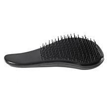 Magic Detangling Handle Tangle Shower Hair Brush Comb Salon Styling Tamer Tool-Black