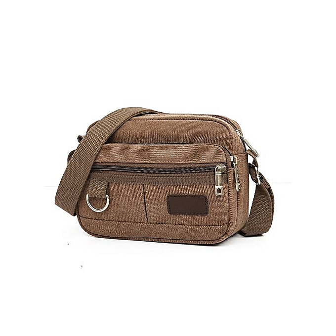 e55db1bb33ec Seioure Men's Travel Bags Cool Canvas Bag Fashion Men Messenger Bags  Shoulder Bags CO As Shown