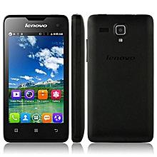 Lenovo A396 256MB+512MB 4.0 Inch Quad Core HD Screen 2MP+0.3MP Cameras Dual Sim