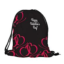 koaisd Valentine's Day Drawstring Bag Sack Sport Gym Travel Outdoor Backpack Bags