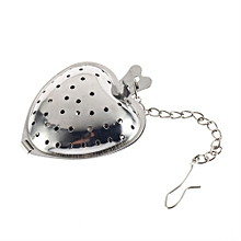 Stainless Steel Heart Tea Spice Strainer Ball Infuser Filter Herb Steeper