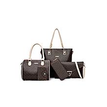Brown 5-in-1 Office Messenger Handbag