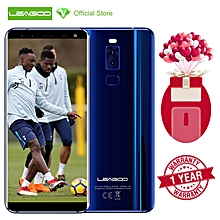 "S8 5.72"" HD 18:9 Full-Screen Four-Camera 3GB RAM 32GB ROM Android 7.0 Octa Core 1.5GHz Rear Fingerprint 4G Smartphone-Blue"