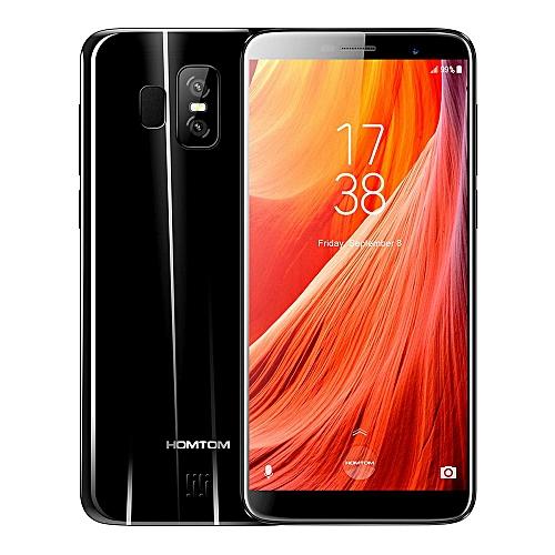 Smartphone 5 5 Inch HD Screen 18:9 Aspect Ratio MT6737 Quad Core 3GB RAM  32GB ROM Touch ID 2900mAh - Black