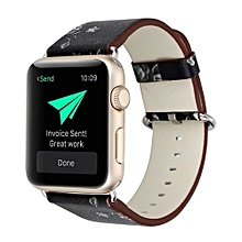 Leather Strap Replacement Watch Band For Apple Watch 42mm