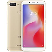 "Redmi 6 - 5.45"" 3GB RAM + 32GB ROM Android 8.1 Helio P22 Octa Core - GOLD"