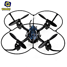 Huanqi 886 2.4G 4CH 6-Axis Gyro RTF Remote Control Transformable Quadcopter Mini Aircraft Drone Toy-BLACK