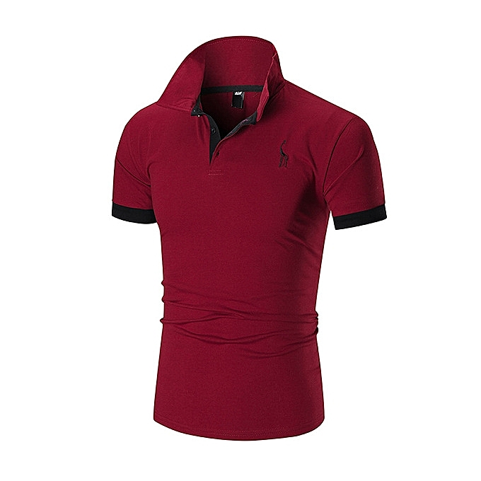 8df42547b09c Buy Generic New Fashion Men s Classic Polo Shirt-red   Best Price ...
