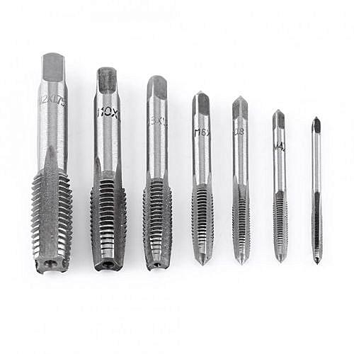 Fabulous Generic 7pcs Metric Thread Steel Tap Tapping Tool M3, M4, M5, M6 TP62
