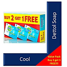 Bar Soap Cool  175g (Pack of 3)