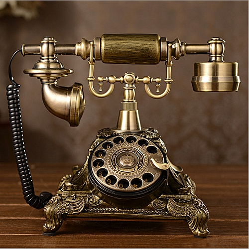 Buy Generic Antique Rotary Phone French Style Vintage Retro Old