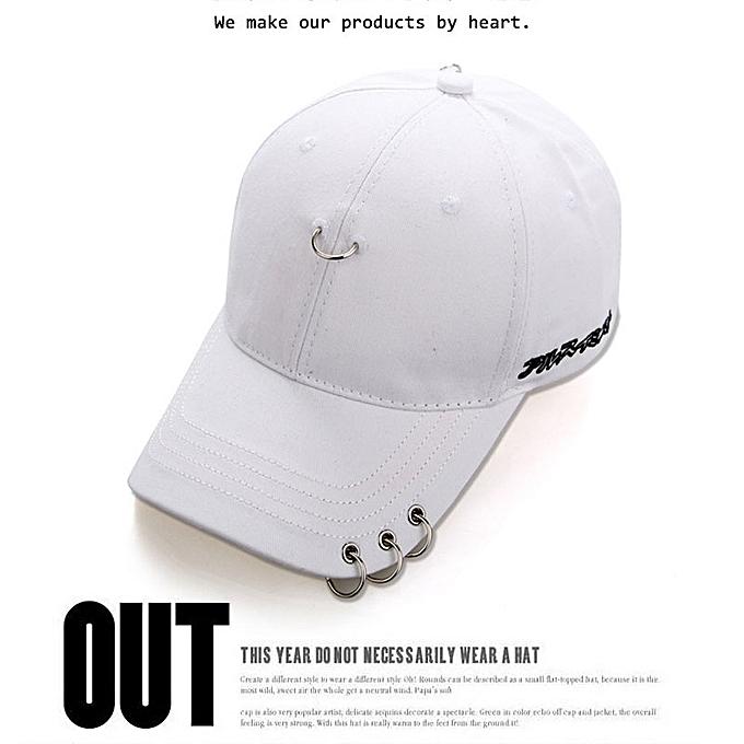 bf822e35dd9 Kpop Womens Summer Hat EXO BTS Bangtan Boys Bigbang Baseball Snapback Hat  White