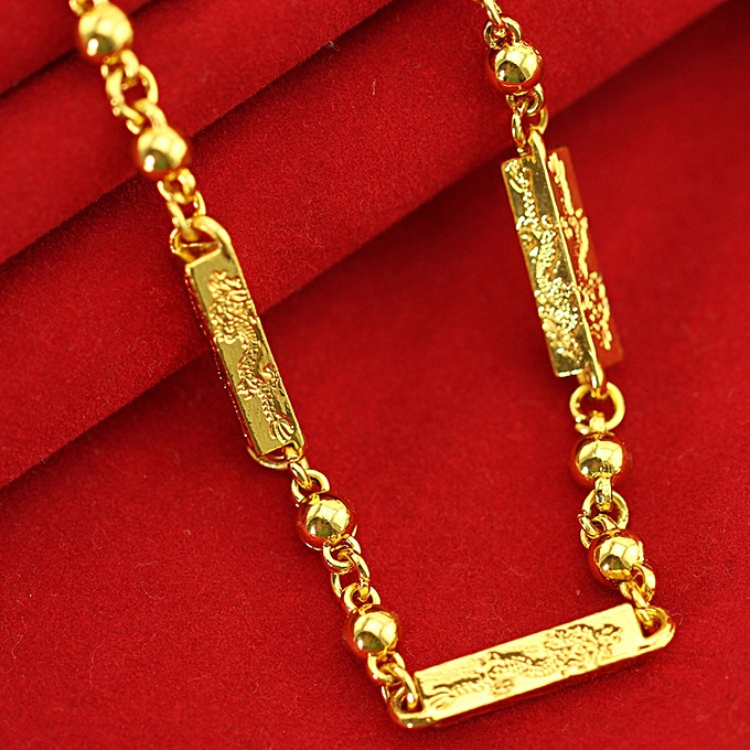 549067a6fb1b9 Necklace 18K Gold Necklace Summary Gold Men's Necklace Gold