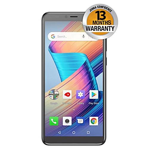 """V28- 5.7"""" FullView Display- 16GB+1GB- 8MP- 3100mAh- Fingerprint - Android 8.1- Dual SIM- Grey"""